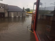 Pictures of flooding outside PIttodrie by Dave MacDermid
