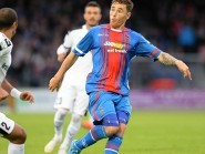 Caley Thistle's Greg Tansey competes for the ball, during last night's Europa League match against FC Astra.