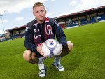 Dundee-born Chris Robertson has returned to Scotland after joining Ross County