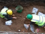 The skeletons were initially found just outside the Art Gallery