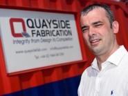 David Duncan, director of Quayside Fabrication