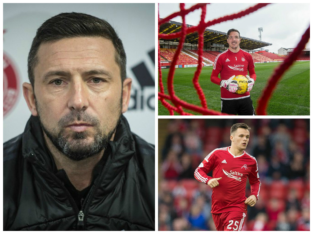 Derek McInnes: No players will leave while Dons remain in Europe
