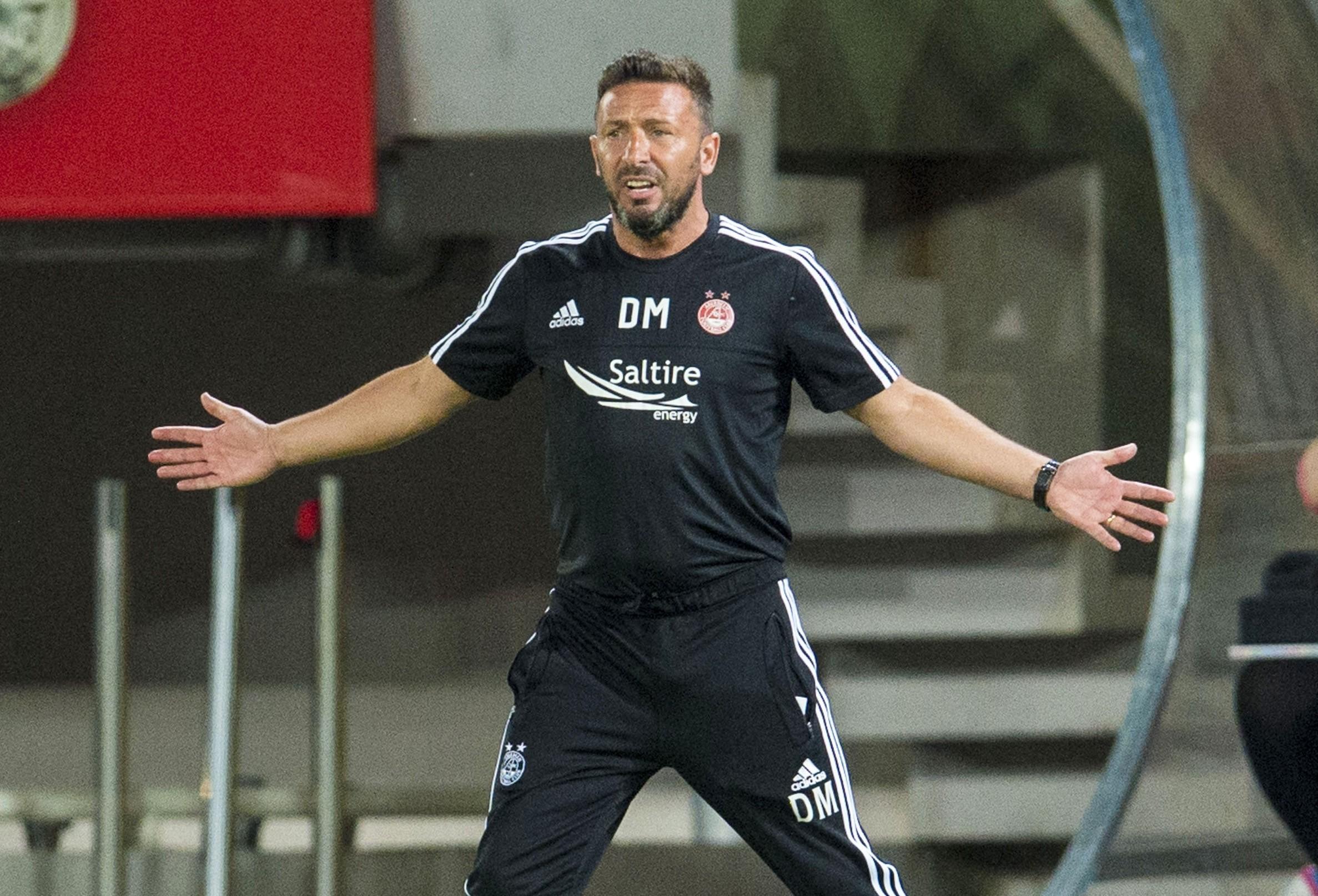 KF Shkendija 1-1 Aberdeen: Dons earn Europa League draw in Macedonia