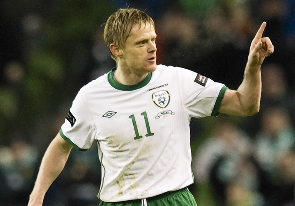 Duff played for Ireland 100 times and will now return to his home country to play for Shamrock Rovers