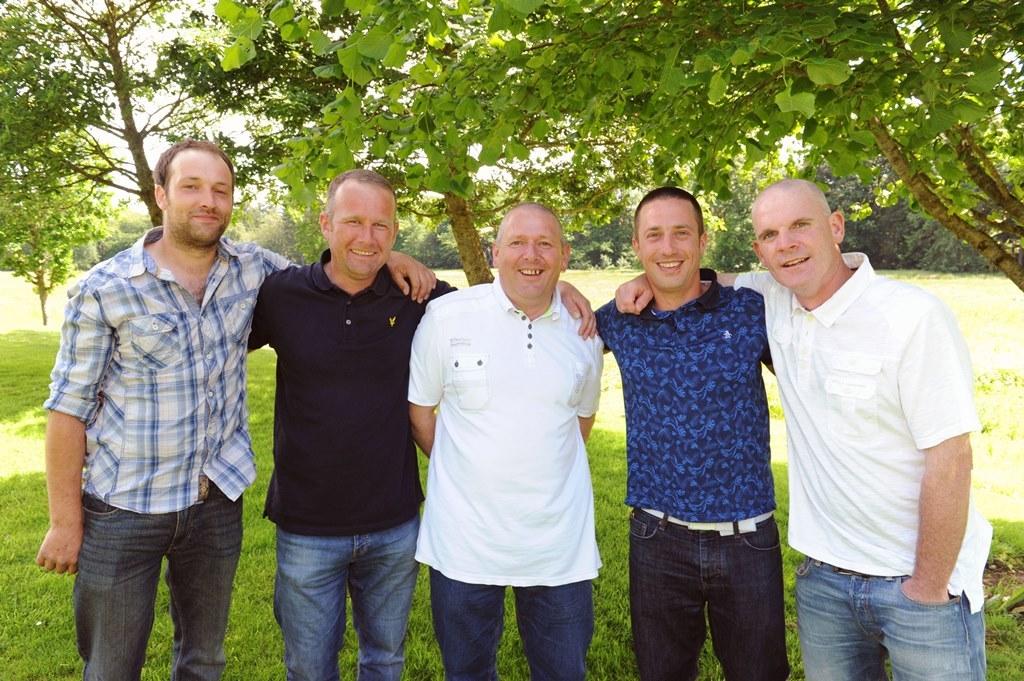 Duncan Robson, George Campbell, Duncan Stirton, David Baker, Scott Pratt