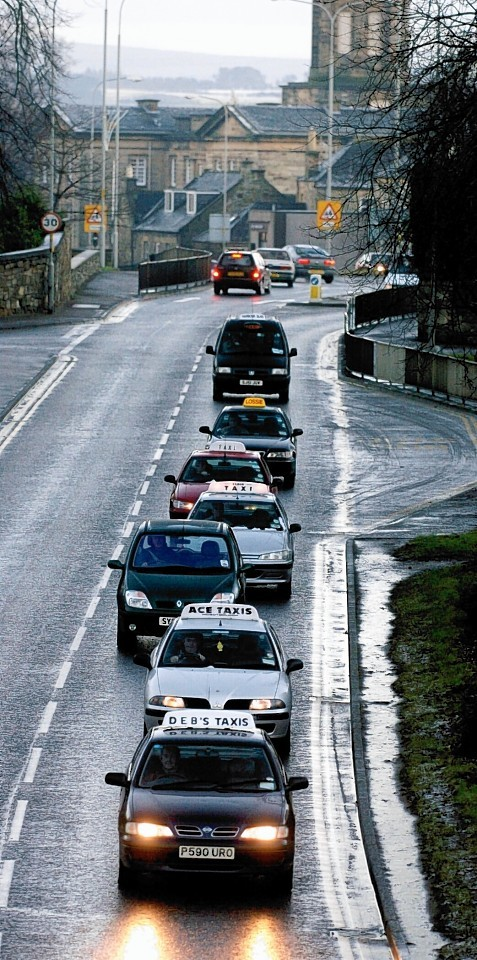 Taxis in Elgin