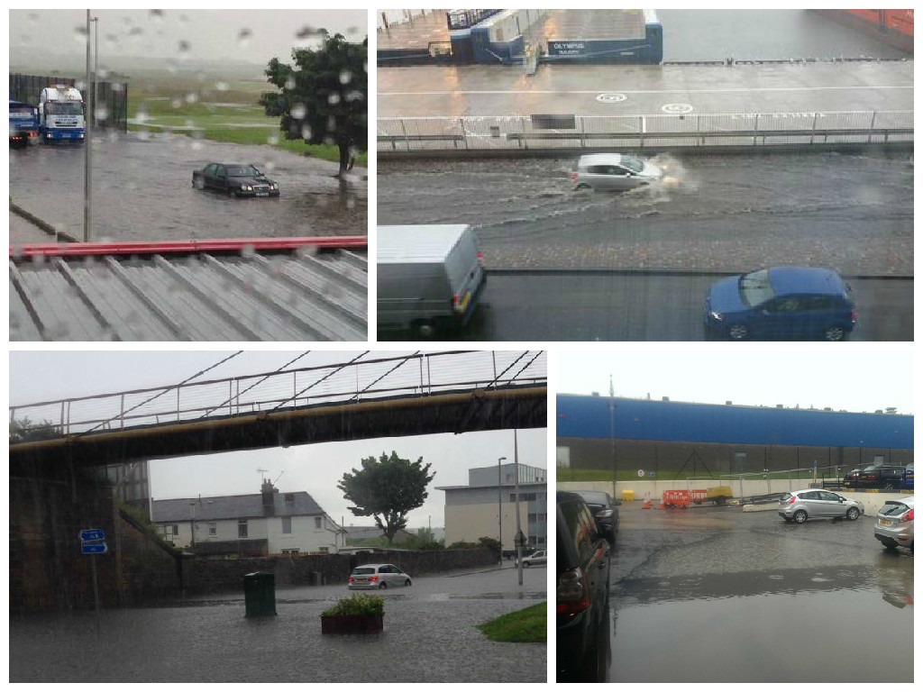 In Pictures Aberdeen Streets Flooded As City Is Hit By Torrential Rain Press And Journal
