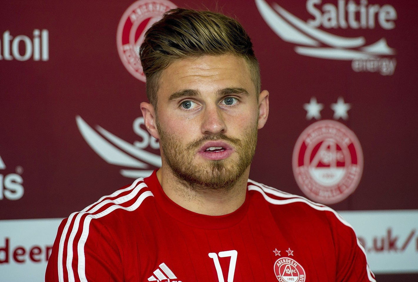 David Goodwillie will leave the Dons after his loan spell at Ross County