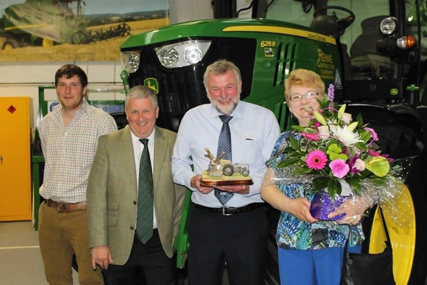 Stuart Barclay, Neil Barclay, Neil Webster and Linda Webster.