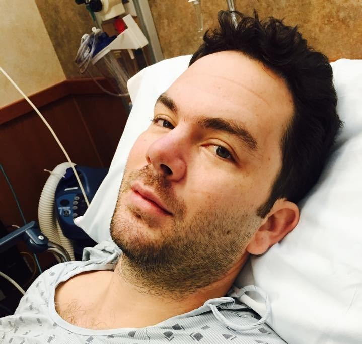 Roderic Munro waiting for surgery in Hawaii