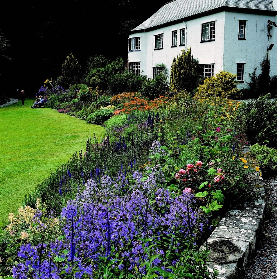 Inverewe House and the acclaimed gardens