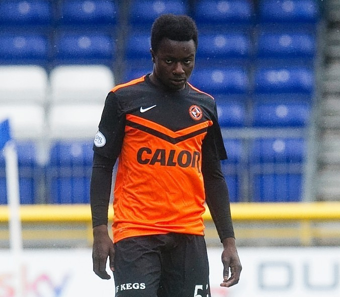 Dundee United youngster Justin Johnson