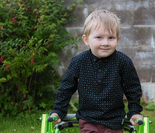 Youngster Kayden Gordon