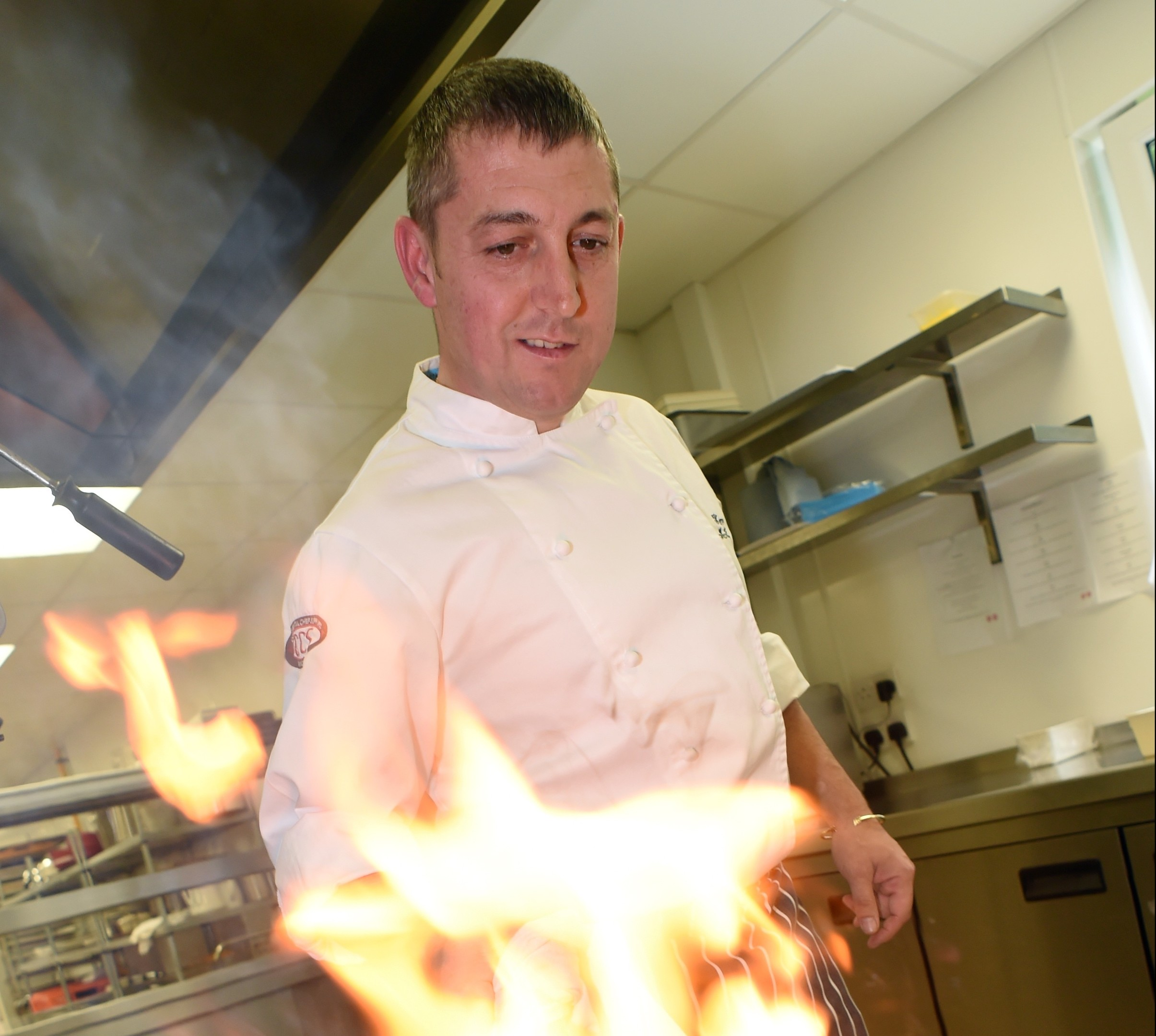 Kenny McMillan, Cluster Group Executive Chef with MacDonald Hotels, pictured at Norwood Hall Hotel, Aberdeen.