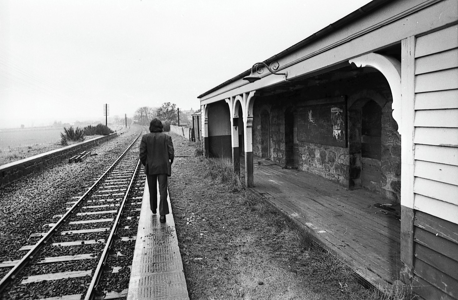 The former Kintore Railway Station in days gone by