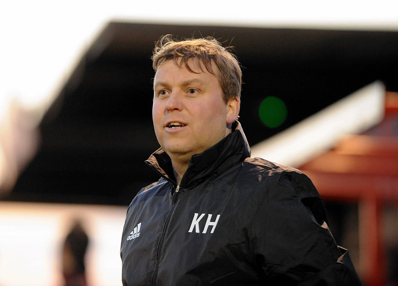 Formartine manager Kris Hunter