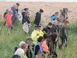 Volunteers join police in the search for missing Lachlan Simpson. Picture by Sandy McCook