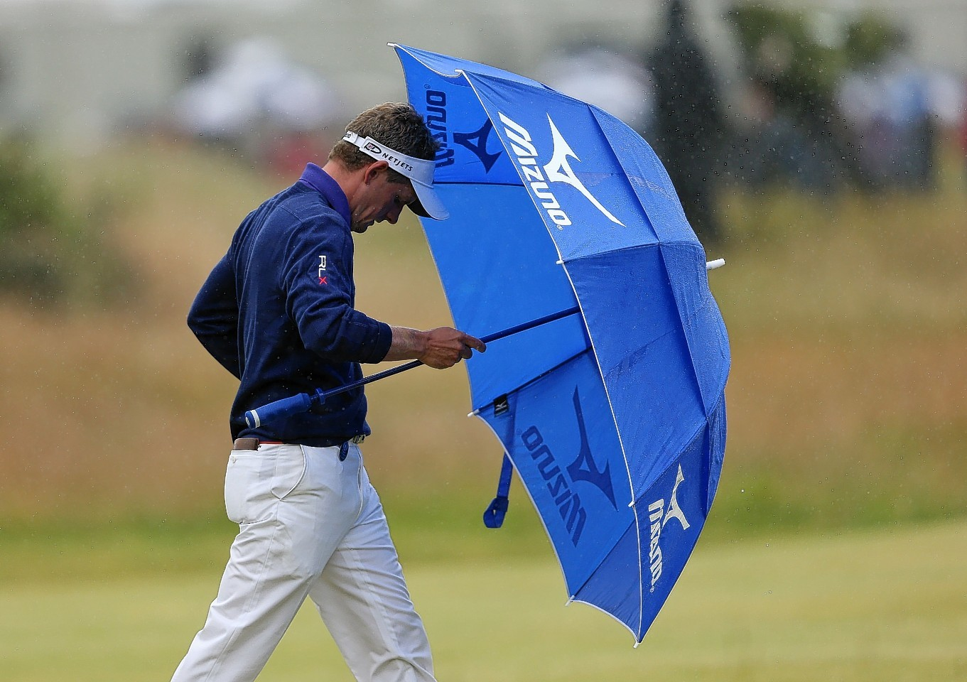 Luke Donald during day five of The Open Championship