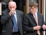 MIchael Allan right) with managing director William Munro left)