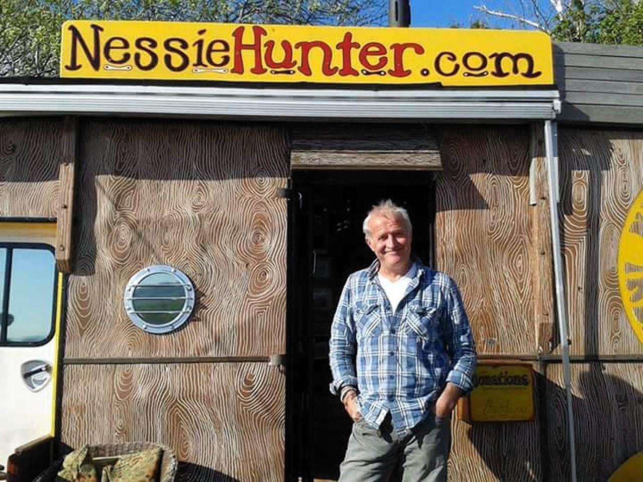 Steve Feltham world famous Nessie Hunter and now, sceptic