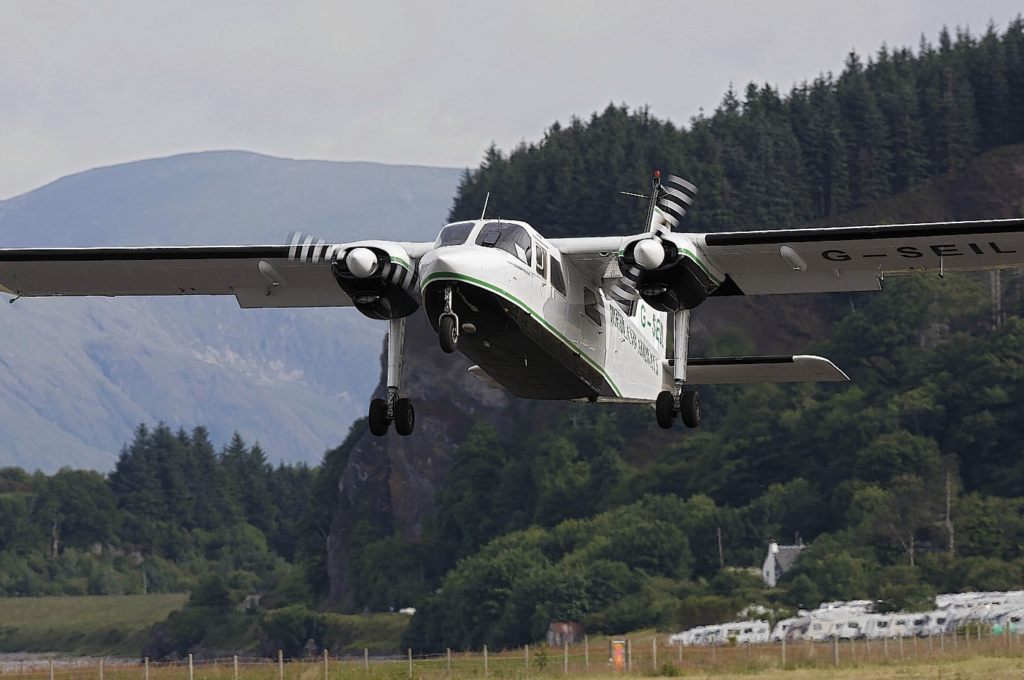 The exercise is planned for Saturday at Oban Airport