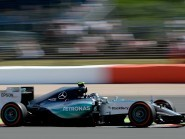 Nico Rosberg was quickest on Friday at Silverstone
