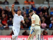 England's James Anderson was focused after a poor showing at Lord's