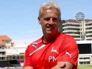 Nottinghamshire coaching consultant Peter Moores said he has enjoyed watching England's attacking approach