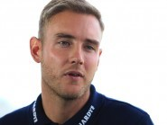 Stuart Broad, pictured, is preparing to go head to head with Mitchell Johnson once again