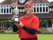 Marco Dawson carded a final-round 64 to claim the Senior Open Championship title
