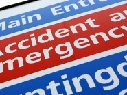 Figures show 95.2% of patients were seen in A&E departments within four hours in the week ending July 19