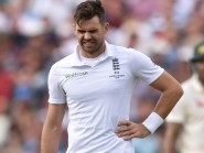 England's James Anderson is out of the fourth Ashes Test through injury