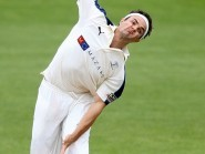 Jack Brooks was the pick of Yorkshire's bowlers