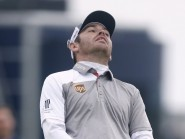 Former Open champion Louis Oosthuizen suffered a second major play-off defeat