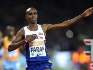 Mo Farah was questioned by the United States Anti-Doping Agency on Saturday