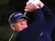 Colin Montgomerie made his move at the Senior Open on Saturday
