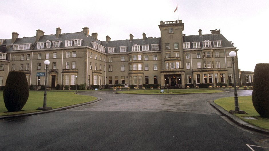 Diageo announced it has sold Gleneagles Hotel in Perthshire to a private investment group for an undisclosed sum