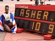 Dina Asher-Smith this weekend became the first British woman to break the 11-second barrier