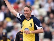 Rikki Clarke excelled with both bat and ball for Birmingham