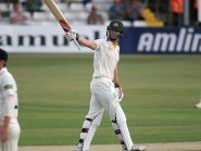 Mitchell Marsh put forward his case for selection with a powerful century at Essex