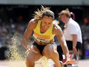 Great Britain's Jessica Ennis-Hill found form at the Anniversary Games