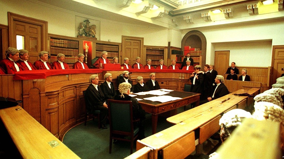 The Court of Session in Edinburgh.
