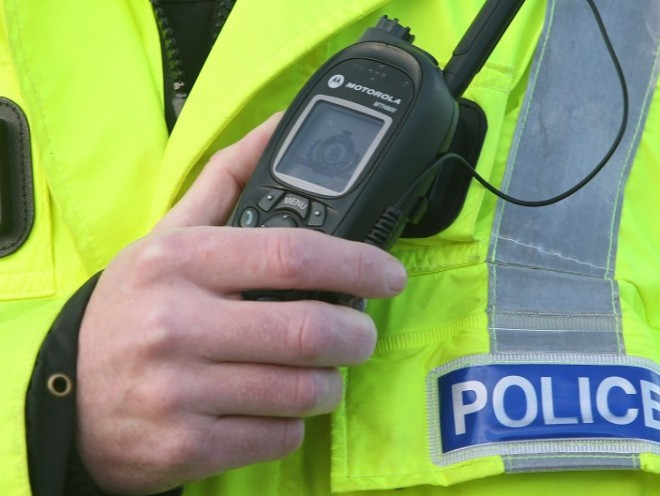 The accident was between a taxi and a van on the A90