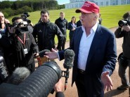 Donald Trump said that his US presidential campaign has been going 'really well'
