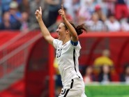 Carli Lloyd's stunning early hat-trick spurred the United States to victory