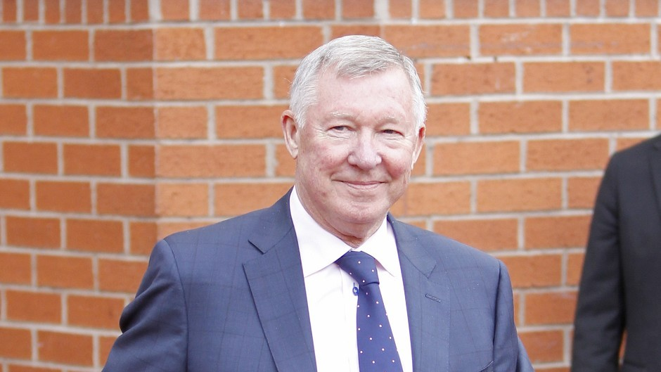 Sir Alex Ferguson will open Cormack Park on Thursday.