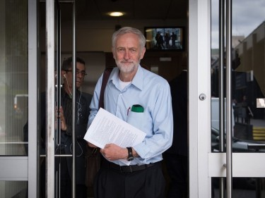 The Communication Workers Union announced support for the Jeremy Corbyn in the Labour leadership battle