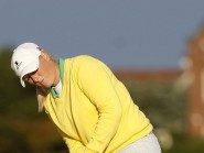England's Holly Clyburn made a charge at the Ladies Scottish Open