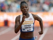 Dina Asher-Smith became the first British woman to dip under 11 seconds in the 100 metres