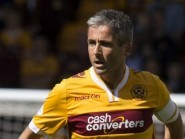 Motherwell manager Ian Baraclough had some unusual praise for Keith Lasley, pictured
